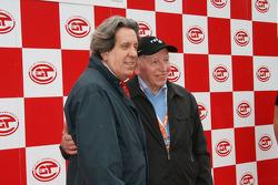 John Surtees prepares to present the trophies
