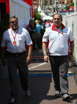 Vijay Mallya, Force India F1 Team, Owner ve Kingfisher CEO, Colin Kolles, Force India F1 Team, Takım Patronu