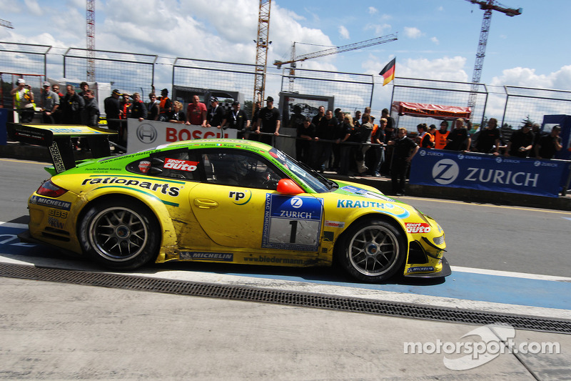 2008: #1 Manthey Racing, Porsche 911 GT3 RSR