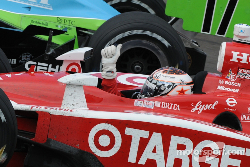 Scott Dixon domineert