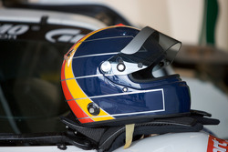 Helmet of Heinz-Harald Frentzen on the #11 Apollo