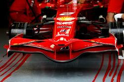 Scuderia Ferrari, F2008, Front wing