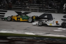 Will Power and Graham Rahal running together