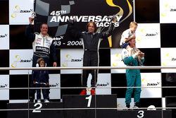 Podium: race winner Ingo Gerstl, second place Frits van Eerd, third place Joachim Ryschka