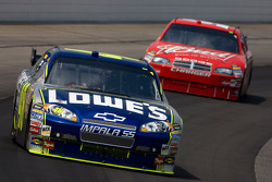 Jimmie Johnson and Kasey Kahne