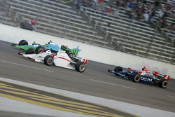 John Andretti, Ryan Hunter-Reay and Victor Meira