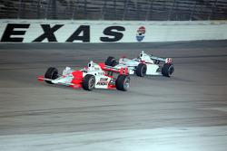 Ryan Briscoe and John Andretti