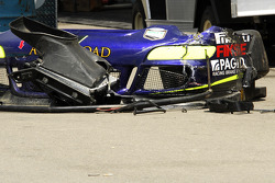 Crash damage