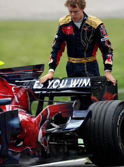 Problem for Sebastian Vettel, Scuderia Toro Rosso