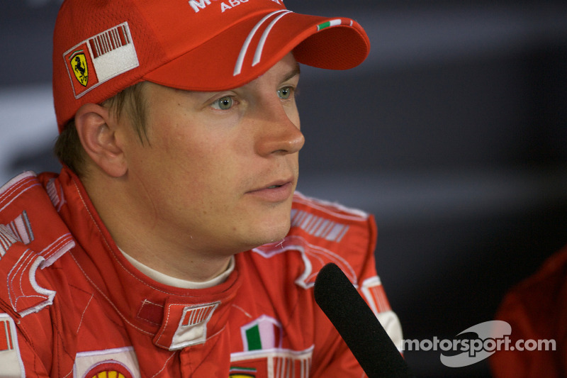 Post-race press conference: Kimi Raikkonen