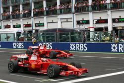 Кими Райкконен и Фелипе Масса, Scuderia Ferrari