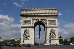 Visit of Paris: Arc de Triomphe