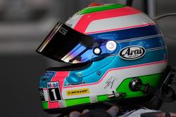 Helmet of Bruno Spengler, Team HWA AMG Mercedes, AMG Mercedes C-Klasse