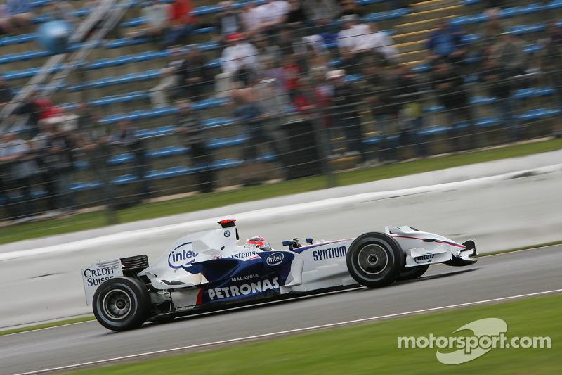 2008: BMW-Sauber F1.08 (одна победа и десять подиумов, 3-е место в КК)