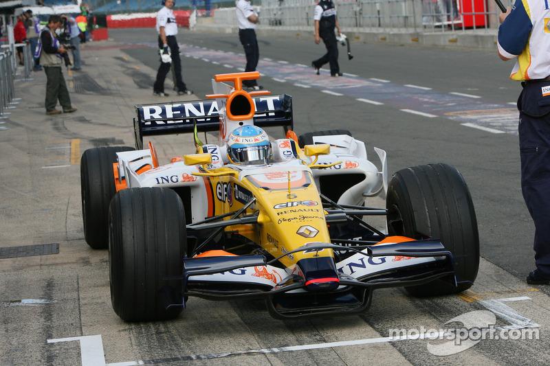 Renault 2008: Fernando Alonso, Renault R28