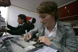 Mike Conway and Giorgio Pantano