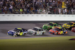 Jimmie Johnson leads Dale Earnhardt Jr., Jeff Gordon and Kyle Busch