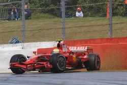 Felipe Massa, Scuderia Ferrari, F2008, gira