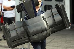 Front Wing of Nico Rosberg, WilliamsF1 Team