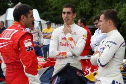 Marc Gene, Test Driver, Scuderia Ferrari, Sebastian Buemi Red Bull Racing, Christian Klien, Test Driver, BMW Sauber F1 Team