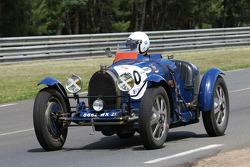 #60 Bugatti 51 1931: Patrick Friedli, Philippe Brunner