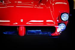 Historischer Ferrari in der Box