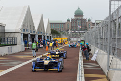 Sébastien Buemi, Renault e.Dams, und Nicolas Prost, Renault e.Dams
