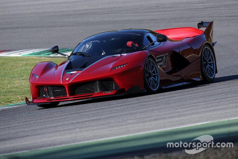 Ferrari FXX Programme, Ferrari FXX K en action
