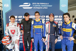 Top qualifiers: Лоік Дюваль, Dragon Racing, Стефан Саррацін, Venturi, володар поулу Себатьен Буемі,