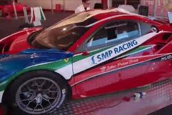 Машина Ferrari 488 GTE SMP Racing