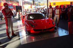 Präsentation Ferrari 488 GT3