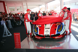 El Ferrari 488 GTE