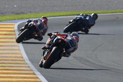 Jorge Lorenzo, Yamaha Factory Racing et Marc Marquez and Dani Pedrosa, Repsol Honda Team