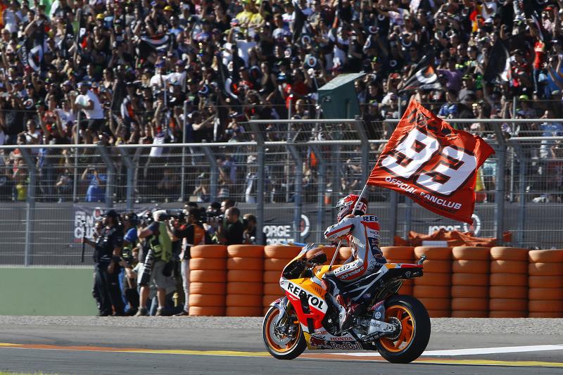 Segundo lugar, Marc Márquez, Repsol Honda Team