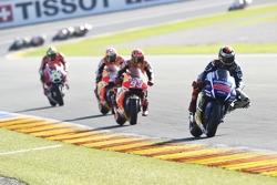 Хорхе Лоренсо, Yamaha Factory Racing, Марк Маркес, Repsol Honda Team, Дани Педроса, Repsol Honda Tea