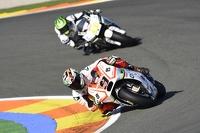 Danilo Petrucci, Pramac Racing Ducati dan Cal Crutchlow, Team LCR Honda