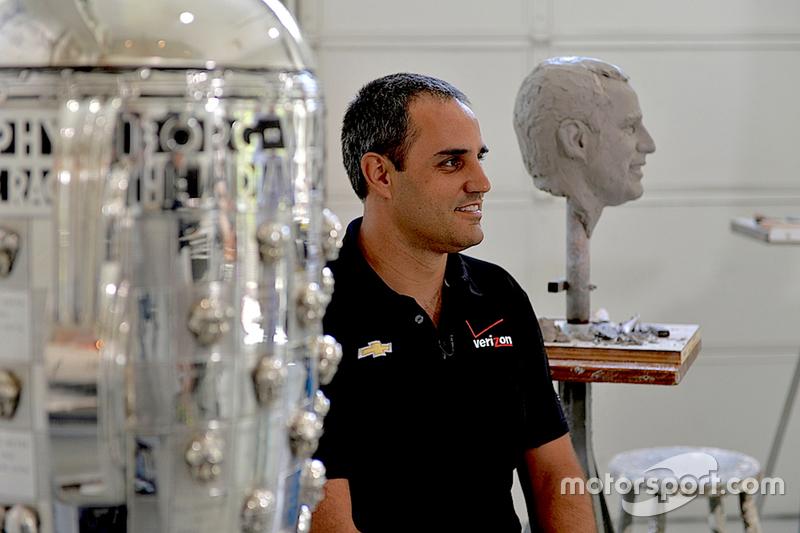 Der Sieger des Indy 500 der Saison 2015: Juan Pablo Montoya