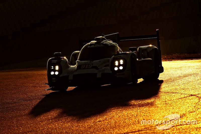 #2: Porsche 919 bei Testfahrten