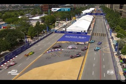 Tutti gli incidenti del ePrix di Putrajaya
