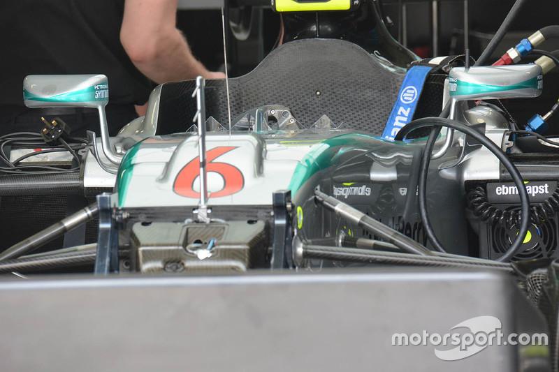 Mercedes AMG F1 W06, Detail