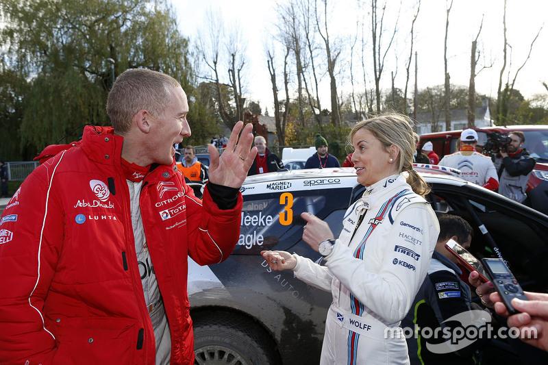 Пол Негл, Citroën World Rally Team з Сьюзі Вольф