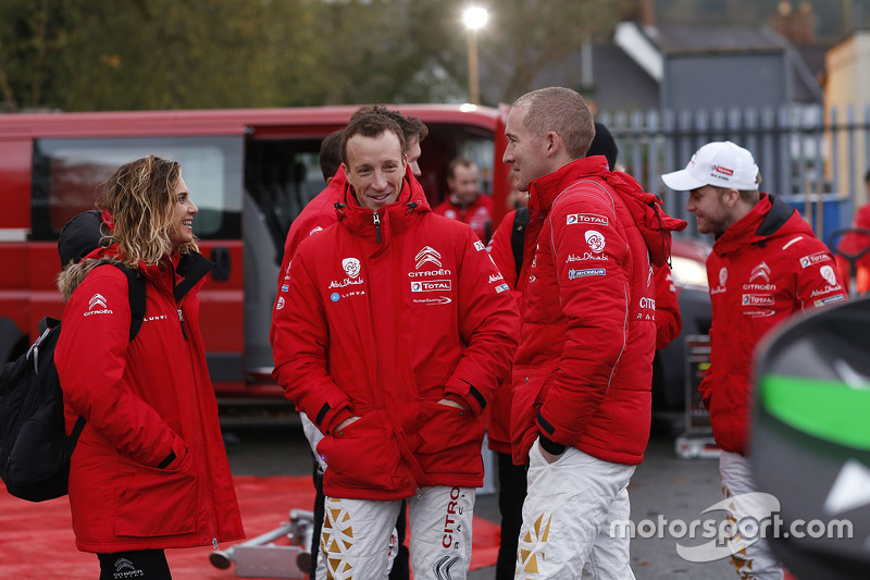 Marie-Pierre Rossi з Кріс Міке та Пол Негл, Citroën World Rally Team