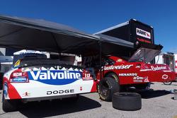 NASCAR Dodge und Chevrolet