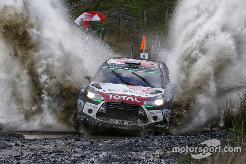 Kris Meeke y Paul Nagle, Citroën DS3 WRC, Citroën World Rally Team
