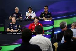 Прес-конференція FIA: Франц Тост, Керівник команди Scuderia Toro Rosso; Моніша Калтенборн, Керівник