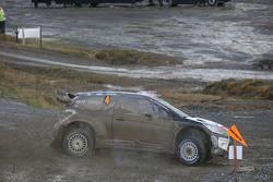 Мадс Остберг и Йонас Андерссон с Крисом Миком и Полом Нэглом, Citroën World Rally Team