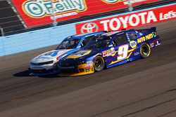 Chase Elliott, JR Motorsports Chevrolet and Brian Sott, Richard Childress Racing Chevrolet