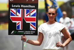 Грид-гёрл Льюиса Хэмилтона, Mercedes AMG F1