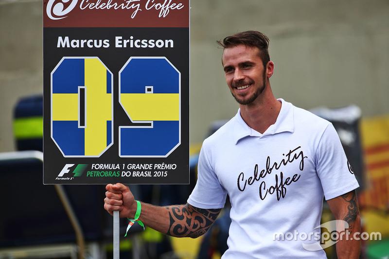 F1 - Un Grid Boy pour Marcus Ericsson, Sauber F1 Team