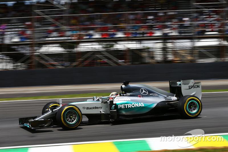 2015: Mercedes AMG F1 W06